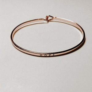 """$10 ADD ON BRACELET with """"HOPE"""" engraved"""